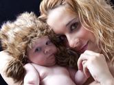 Photo bebe Photo complice de bébé et maman