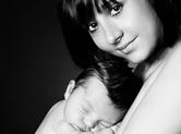 Photo famille Photo de maman avec son bébé