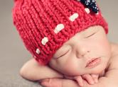 Photo nouveau-ne Photo de bébé endormi originale