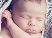 Photo nouveau-ne Photo de bébé en position originale