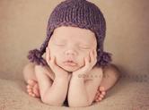 Photo nouveau-ne Photo de bébé modèle de face