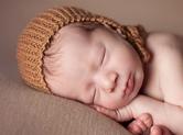 Photo nouveau-ne Photo où bébé dort sereinement