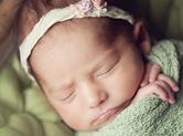 Photo nouveau-ne Photo de tête de bébé