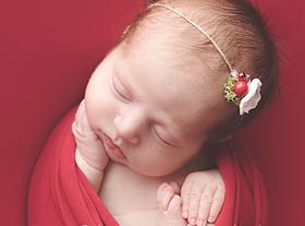 Photo nouveau-ne photo bébé noël