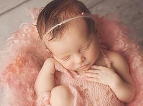 Photo nouveau-ne photo bébé fille