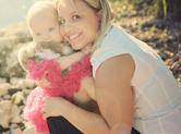 Photo exterieur Photo romantique d\'une mère et de sa fille