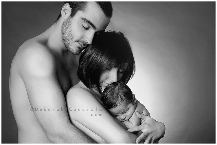 Photo Famille Photo De Couple En Symbiose Avec Bébé