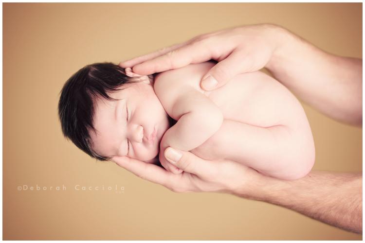 Photo Nouveau né Photo De Bébé Pris Dans Les Mains De Papa