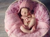 Photo nouveau-ne Photographie de bébé dans un panier
