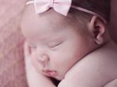 Photo nouveau-ne Photo de bébé fille mignonne