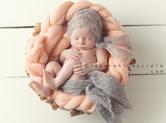 Photo nouveau-ne Photo artistique angélique de bébé