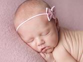 Photo nouveau-ne Photo de nouveau-né dans le rose