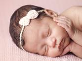 Photo nouveau-ne Photographie de joli bébé