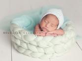 Photo nouveau-ne Prise de vue artistique de bébé